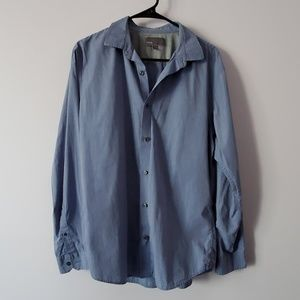 Vince Dress Shirt Men's Large